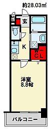 レジデンス21[104号室]の間取り