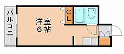 福岡県福岡市博多区御供所町の賃貸マンションの間取り
