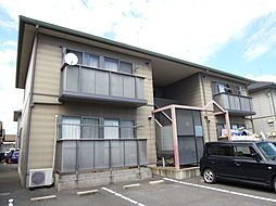 岡山県倉敷市神田3丁目の賃貸アパートの外観