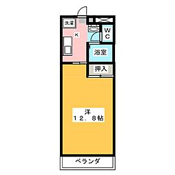 秀和ビル[3階]の間取り