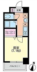 ルート茅ケ崎[602号室]の間取り