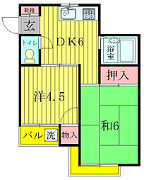ストークE[2階]の間取り