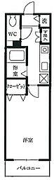 キララローネ[7階]の間取り