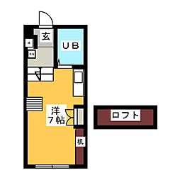 KYMビル 南棟[1階]の間取り