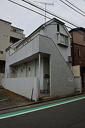 神奈川県横浜市港北区菊名3丁目の賃貸アパートの外観