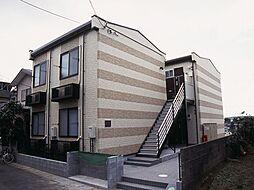 神奈川県大和市福田2丁目の賃貸アパートの外観
