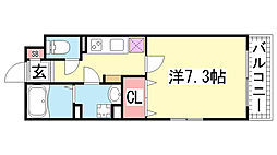 KTIレジデンス神戸元町[101号室]の間取り
