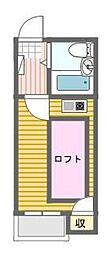 シャンクレール日本橋[5階]の間取り