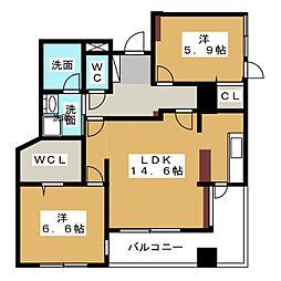 Palazzo VITA[5階]の間取り