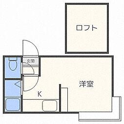 AMS913[3階]の間取り