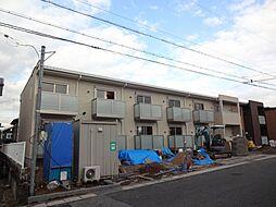 兵庫県西宮市山口町上山口3丁目の賃貸アパートの外観