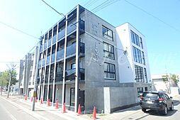 北海道札幌市東区北九条東5丁目の賃貸マンションの外観