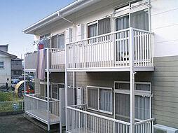 群馬県高崎市鼻高町の賃貸アパートの外観