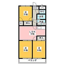 GRACY TAKAO[4階]の間取り