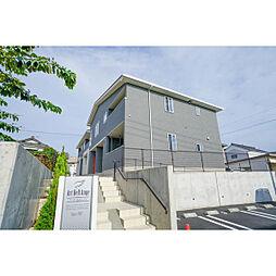 岡山県岡山市東区西大寺南2丁目の賃貸アパートの外観