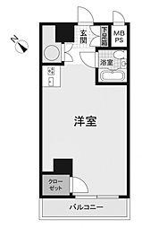 日興パレス横浜[3階]の間取り