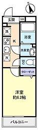 リブリ・八千代台北[2階]の間取り