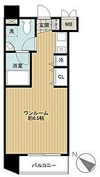東京都港区白金3丁目の賃貸マンションの間取り