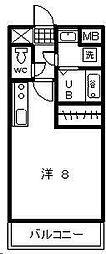 T・Yマンション2[605号室]の間取り