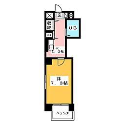 シグマケミカル名古屋[4階]の間取り
