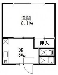 メゾン・ドゥ・レイリー C棟[2階]の間取り