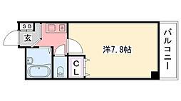 リッチライフ甲子園VIII[303号室]の間取り