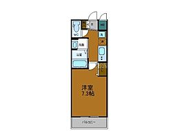 Osaka Metro千日前線 今里駅 徒歩5分の賃貸マンション 7階1Kの間取り