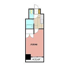 アリビオ八幡[407号室]の間取り