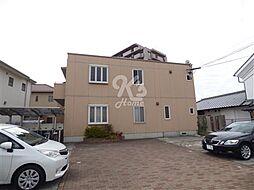 兵庫県明石市大久保町福田3丁目の賃貸アパートの外観
