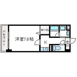 プラネット46[403号室]の間取り