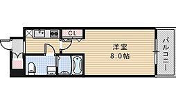Co.labo天王寺[401号室]の間取り