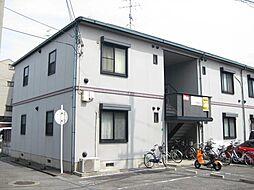 大阪府大阪市平野区喜連7丁目の賃貸アパートの外観