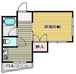 ハイツ富田[]の間取り画像