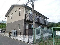 東京都八王子市中野山王3丁目の賃貸アパートの外観