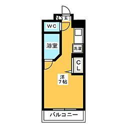 ルネスロワール博多駅南[5階]の間取り