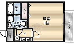 ドゥエリング大宮3階Fの間取り画像