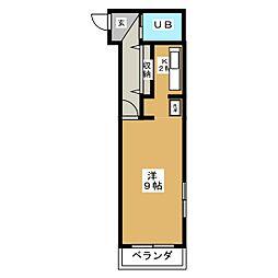 藤久ヒルズ[2階]の間取り