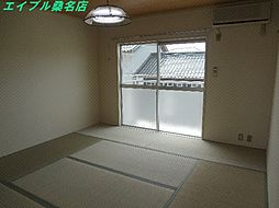 三重県いなべ市大安町大井田の賃貸アパートの外観