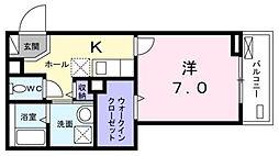 トゥルースワン[2階]の間取り