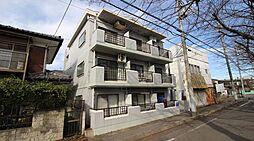 千葉県柏市常盤台の賃貸マンションの外観