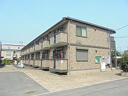 東京都小平市花小金井南町1丁目の賃貸アパートの外観