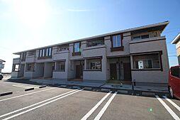 山口県下関市新垢田北町の賃貸アパートの外観