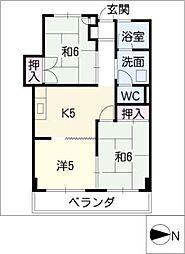 トヨダビル[2階]の間取り