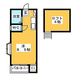 グレイス吉塚[2階]の間取り