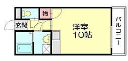 ルート15[3階]の間取り