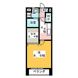 野村様ラフィネ[1階]の間取り