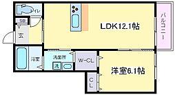 カーサココペリ[2階]の間取り