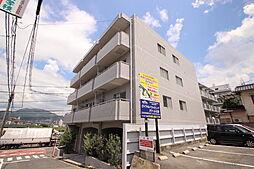 広島県広島市東区牛田新町4丁目の賃貸マンションの外観