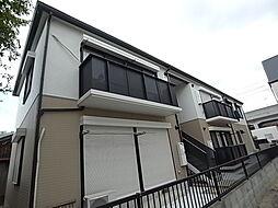 兵庫県明石市天文町1丁目の賃貸アパートの外観