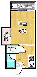 ライフステージ1番館[2階]の間取り